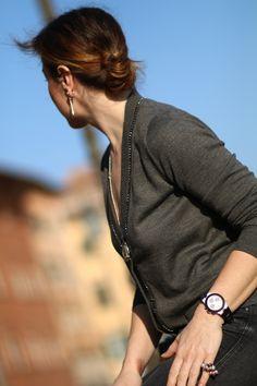 follow #TheItalianGlamdiaries blogger diaries supplizio by The Italian Glam Dolce Gabbana cardigan Bulgari Alluminium watch