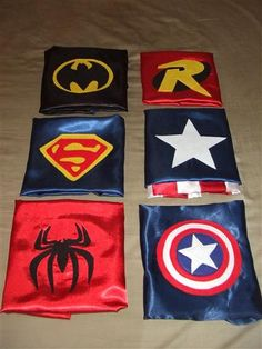 superhero capes with optional personalization