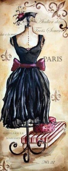 La Mode Francaise 2 CROSS STITCH PATTERN 460 by Maxispatterns