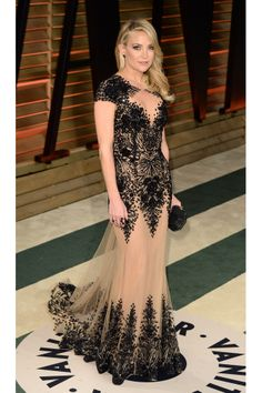 Kate Hudson chose a dress from the Zuhair Murad Couture spring/summer 2014 collection.