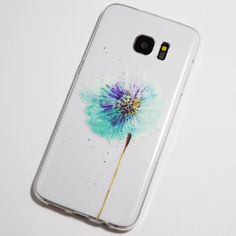 Blue Dandelion Samsung Galaxy S7 Edge Case