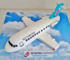 Airplane Cake ♡♡♡