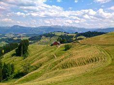 Die Napfwanderung - Durchs hügelige Emmental. Wanderlust, Do Love, Hiking, Rapunzel, Camping, Mountains, Country, Places, Nature