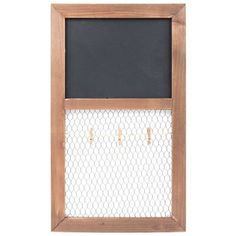 Chalkboard & Chicken Wire Organizer | Shop Hobby Lobby - Do something like this to the bottom of the antique washboard I have  - either chicken wire or chalkboard in place of the broken glass - smj