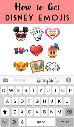Here's How to Get Disney Emojis