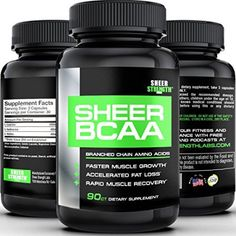 SHEER BCAA Capsules 1 Best Branched Chain Amino Acids Post Workout Supplement Builds Muscle and Burns Fat Fast Full 30 Day Supply *** More info could be found at the image url. (This is an affiliate link) Fast Muscle Growth, Build Muscle Fast, Gain Muscle, Post Workout Supplements, Muscle Building Supplements, Pre Workout Nutrition, Food Nutrition, Amino Acid Supplements