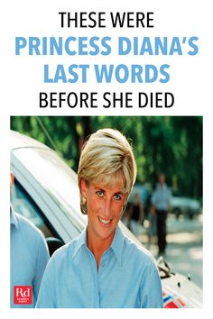 Her heart-wrenching last words reveal how harrowing that 1997 car crash was. Princess Diana Funeral, Princess Diana Photos, Princes Diana, Real Princess, Princess Of Wales, Royal Baby Nurseries, Angelina Danilova, Kate Middleton Wedding, Prince Harry And Megan
