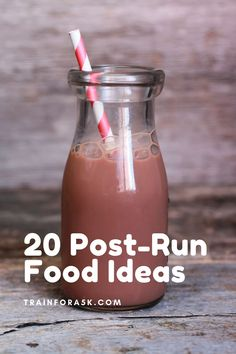 The point of post-run fuel is to replace nutrients lost during exercise, encourage muscle repair and feel good! Instead of reading the studies, conduct your own by experimenting with the foods from this list! Jogging For Beginners, Running For Beginners, Running Tips, Runners Food, Yogurt Chicken Salad, Recovery Food, Kind Bars, Veggie Sandwich, Lose Weight