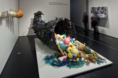 Ocean trash reborn as art in Alaska. Marine debris is transformed into art for a new exhibit at the Anchorage Museum, offering an ee. Plastic Sheds, Plastic Art, Ocean Pollution, Plastic Pollution, Plastic In The Sea, Great Pacific Garbage Patch, Marine Debris, Trash Art, Recycling