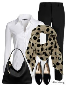 No. 568 - Office Outfit by hbhamburg on Polyvore featuring polyvore, fashion, style, NIC+ZOE, Michael Kors, Armani Jeans and clothing