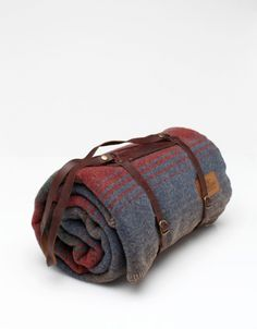 Pendleton - Red Camp Blanket with Carrier - $98.00