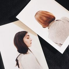 You don't have to undergo a drastic chop to don a bob. Backstage at Acne Studios #AW17 (@acnestudios) legendary session stylist Eugene Souleiman (@eugenesouleiman) fixed the hair into a low ponytail tucked it into collars and high necked clothes in the collection and pulled one side down for an asymmetrical feel. (: @joelygwalker) #PFW #ELLEbackstage #AcneStudios @wellahair #WellaHair  via ELLE UK MAGAZINE OFFICIAL INSTAGRAM - British Fashion Campaigns  Haute Couture  Advertising  Editorial…