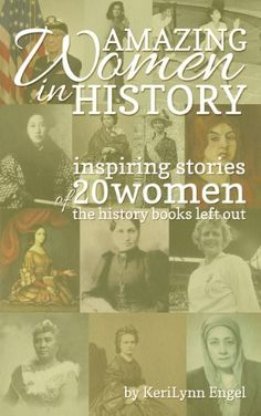 Amazing Women In History: inspiring stories of 20 women the history books left out, http://www.amazon.com/dp/B00J4UGK9M/ref=cm_sw_r_pi_awdm_XMyIwb1R3176F
