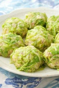Wrap with lettuce!  Fluffy tofu Shumai