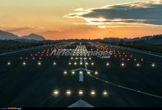 Bilbao Airport Runway