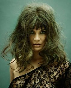 This Rika Magazine Spread Shows Off Flirty Bed Head Looks #hair trendhunter.com
