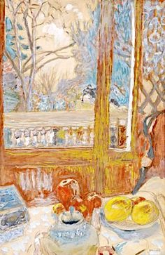 Pierre Bonnard ~ Nature morte et paysage. Pierre Bonnard was a French painter and printmaker, as well as a founding member of Les Nabis
