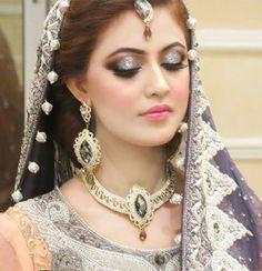Pakistani Bridal Makeup Brides Make Up Natasha Salon 51 Ideas For 2019 Pakistani Bridal Makeup, Pakistani Wedding Dresses, Bridal Dresses, Desi Wedding, Wedding Bride, Bridal Looks, Bridal Style, Bridal Makeover, Asian Bridal