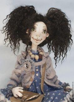 Текстильная кукла - бежевый,текстильная кукла,подарок,авторская ручная работа