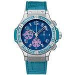 Hublot Big Bang Pop Art Jeweled Dial Blue Automatic Unisex Watch