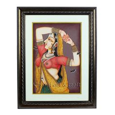 Handmade mughal Miniature Painting on Paper of Traditional Indian lady gold leaf work, home decor, Indian art, Indian handicrafs,gifts by VirasatArtAndCraft on Etsy Mughal Miniature Paintings, Mughal Paintings, Indian Paintings, Cardboard Design, Fine Paper, Traditional Decor, Indian Art, Gold Leaf, Handicraft