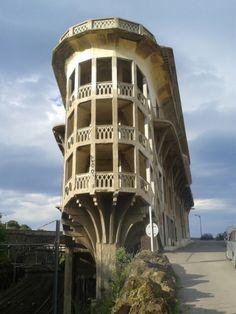 Hôtel le Belvédère du Rayon Vert (1932), Cerbère (Pyérénées Orientales), Archi: Léon Baille (1862-1951).