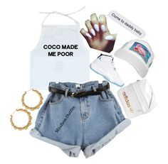 """."" by renipooh ❤ liked on Polyvore featuring Retrò and adidas"