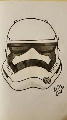 Stormtrooper drawing from my pen
