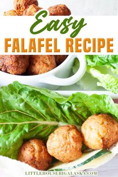 Make dinner fun with the Easy Falafel Recipe! Dinner CAN be fun and tasty at the same time. Try making this fresh Falafel Recipe and you'll see what I mean. Everyone loves fresh falafel, they're dip-able or you can stuff them in sandwiches. Or DO BOTH! Tender canned garbanzos, a few common spices, and a little time make this falafel a dish you'll make again and again! | Little House Big Alaska @littlehousebigalaska #easyfalafelrecipes #fundinnerideas #falafelrecipes #littlehousebigalaska Bean Recipes, Side Dish Recipes, Soup Recipes, Fall Recipes, Appetizer Recipes, Easy Healthy Recipes, Vegetarian Recipes, Healthy Food, Slow Cooker Beans