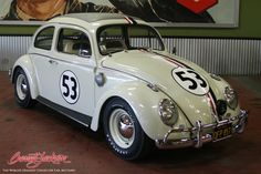 Herbie, Hollywood's Most Beloved Volkswagen Beetle, to Cross the Block at Barrett-Jackson Palm Beach (Photo: Business Wire)