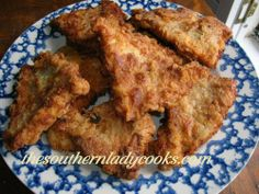 Fried Catfish Fillets - the other white meat!