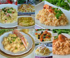 Primi piatti per la Vigilia di Natale facili e veloci Italian Lunch, Italian Pasta Recipes, Healthy Comfort Food, Xmas Food, Easy Cooking, Good Food, Food And Drink, Healthy Recipes, Meals