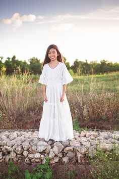 867db50b427 The Evangeline dress is perfect for your boho tween girl. An ethereal maxi  dress crafted