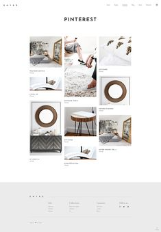 Entré WordPress theme offers you a wide variety of portfolio layouts to choose from for introducing your projects in the best way. #wordpress #webdesign #theme #layout #architecture #architect #interiordesign #decor #homedecoration #portfolio #furniture