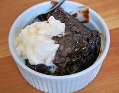 Chocolate Cobbler in the Slow Cooker
