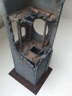step by step! | Scale model | Diorama | Vignettes