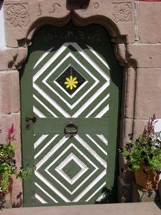 Door in Schiltach - Black Forest Baden Württemberg - Germany