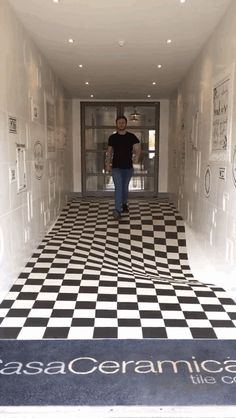 Tired Of People Running Through The Hallway, This Company Decided To Install This Floor
