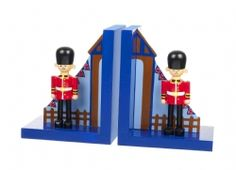 £18.99 Soldiers on guard bookends will brighten up any bedroom or make a wonderful gift!