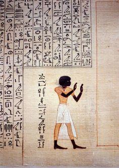 Book of Dead of Maiherpri, 18th Dynasty.