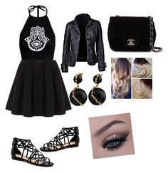 Untitled #39 by bvb-aubrey on Polyvore featuring polyvore fashion style Polo Ralph Lauren Chanel clothing