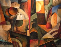 Albert Gleizes | Paysage Cubiste (1914) | Available for Sale | Artsy