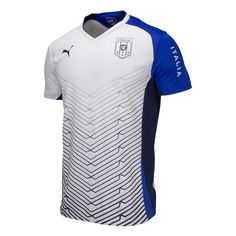 Puma Italy SS Soccer Training Top - White