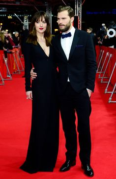 Dakota&jamie at the world premiere of fifty shades of grey in berlin 2-11-2015 she looks beautiful he look's so handsome