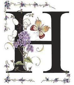 FLORES Y LETRAS PARA DECOUPAGE (pág. 27) | Aprender manualidades es facilisimo.com