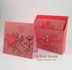 This box with four 3″ by 3″ notecards and envelopes makes a great gift — something for a co-worker or friend that would just make their day a little brighter. The Designer Series …