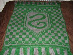 Slytherin Blanket by Shywalker.deviantart.com on @deviantART