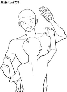Ship Drawing, Drawing Base, Figure Drawing, Body Reference Drawing, Anime Poses Reference, Couple Poses Reference, Art Drawings Sketches Simple, Cute Drawings, Drawing Templates