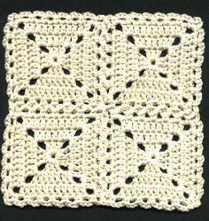 Transcendent Crochet a Solid Granny Square Ideas. Inconceivable Crochet a Solid Granny Square Ideas. Joining Crochet Squares, Motifs Granny Square, Crochet Square Patterns, Crochet Blocks, Crochet Granny, Crochet Motif, Crochet Stitches, Free Crochet, Knit Crochet