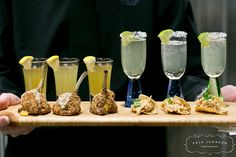 Butler Passed Appetizer Pairings by D'Amico Catering, via Flickr